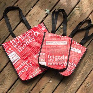 3 Lululemon Reusable bags